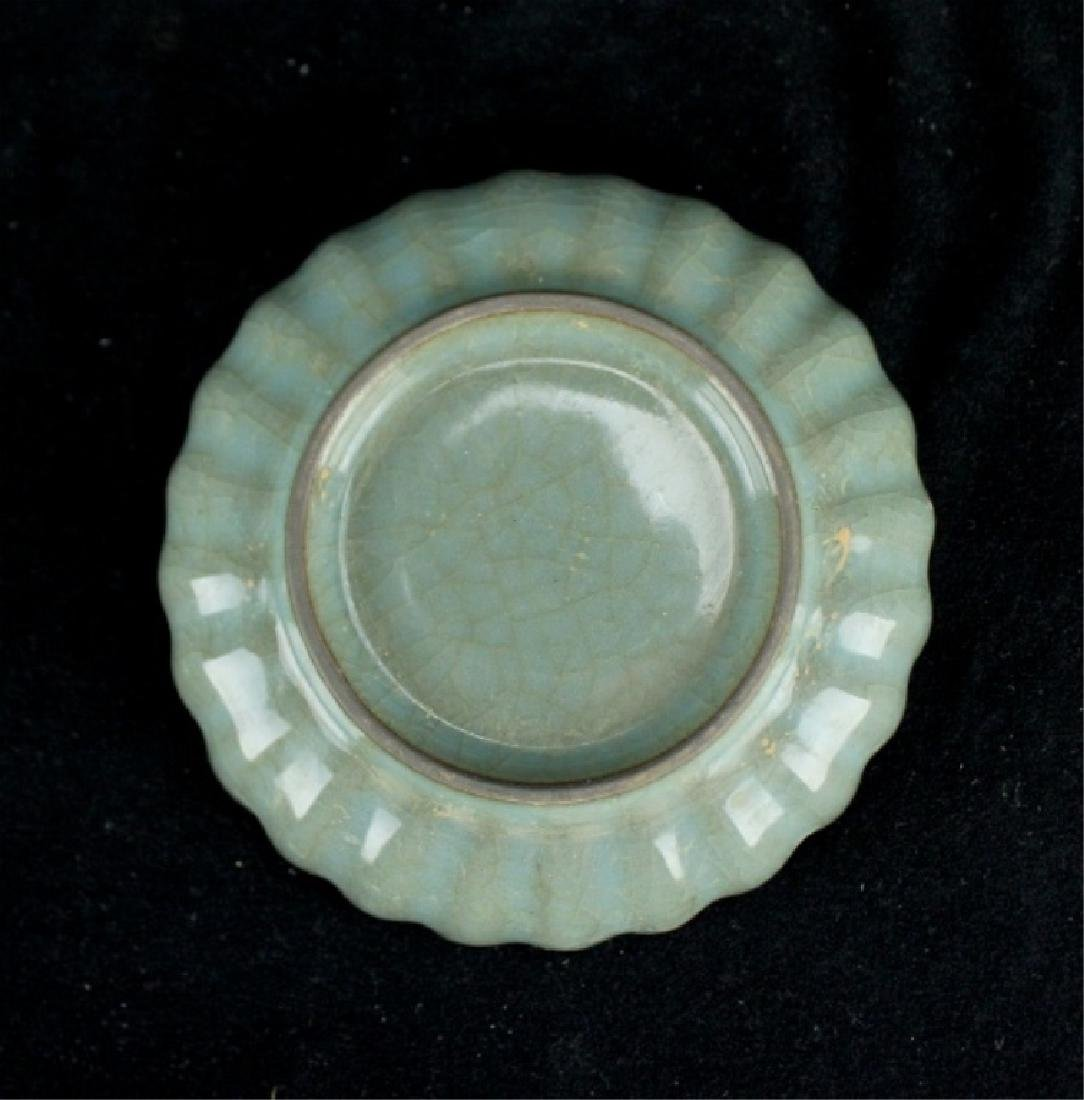 Chinese Song Porcelain GuanYao Plate - 5