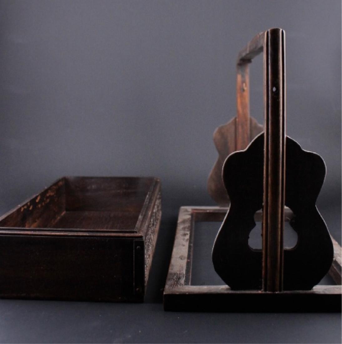Chinese Qing Three-Layer Wooden Box - 8
