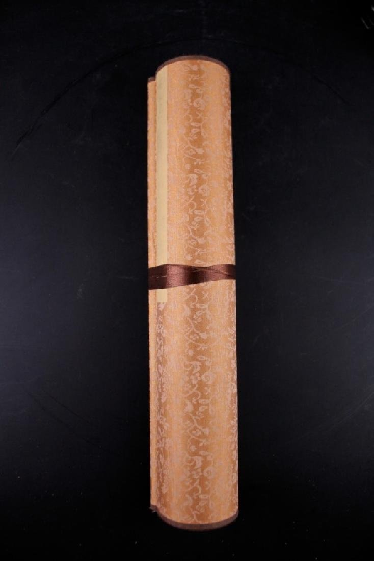 Long Scrolled Hand Painting by Qi Bai Shi