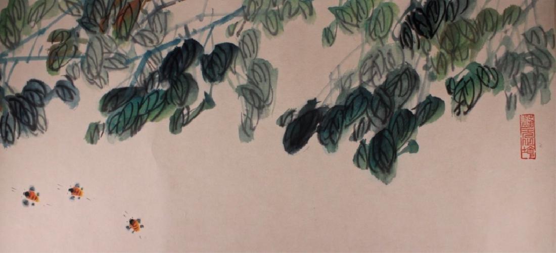 Long Scrolled Hand Painting by Qi Bai Shi - 3