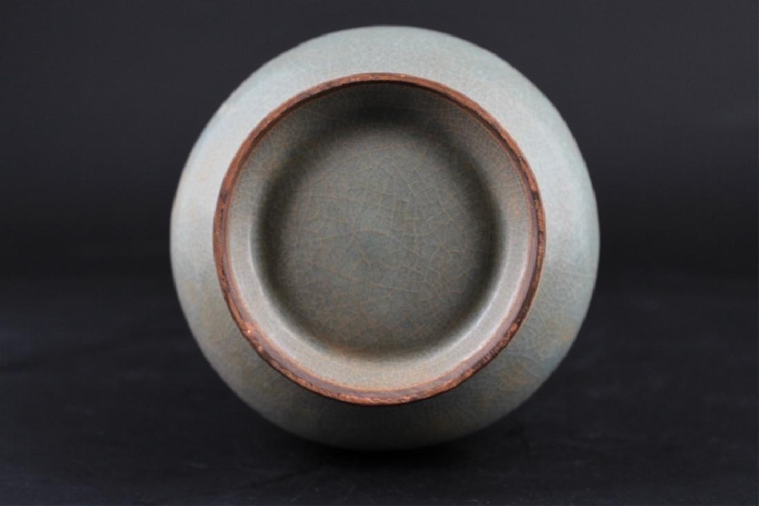 Chinese Song Porcelain Crackle Vase - 6
