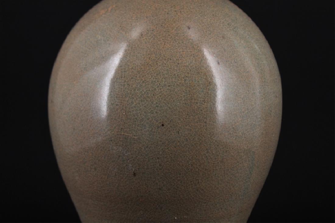 Chinese Song Porcelain Crackle Vase - 3