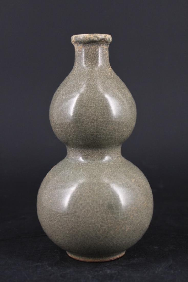 Chinese Song Porcelain Gourd Vase
