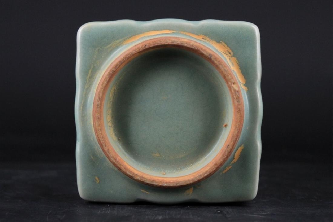 Chinese Song Porcelain Guanyao Chong Vase - 5