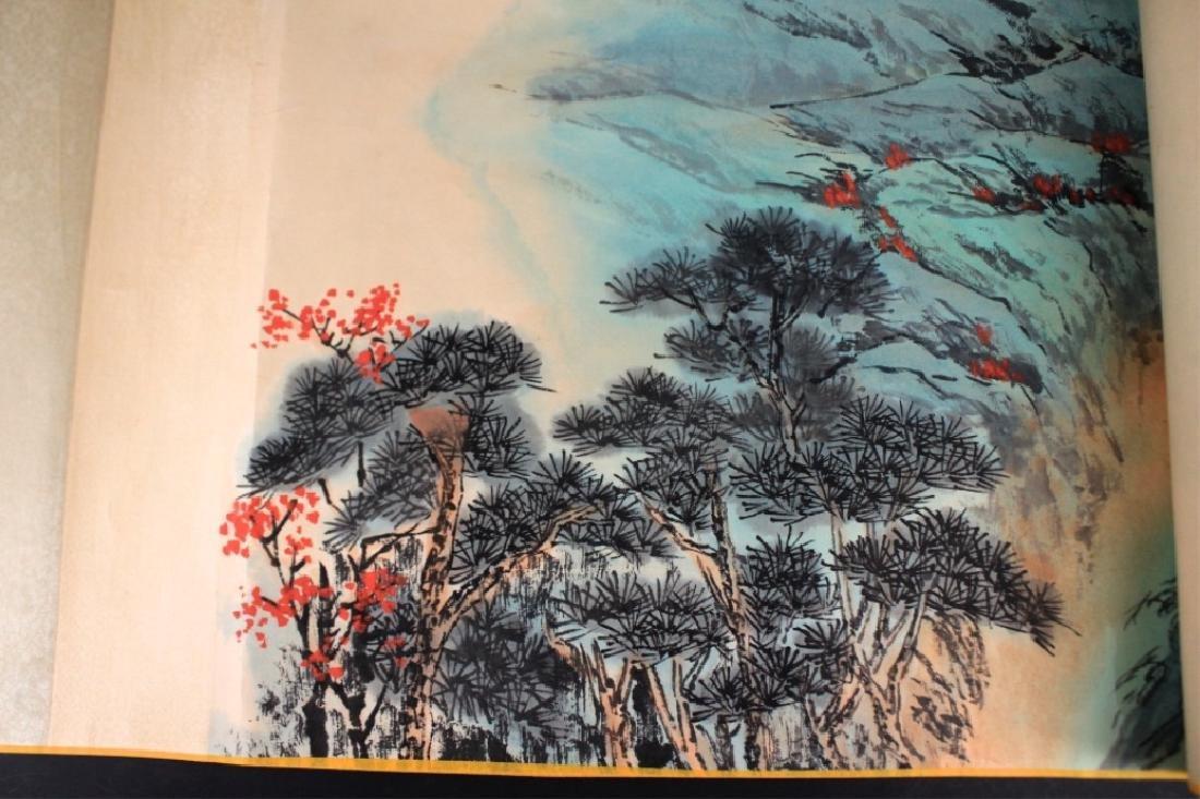 Chinese Long Scrolled Painting By Zhang Da Qian - 6