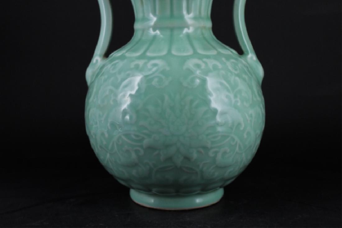 Chinese Qing Porcelain Floral Gourd Vase - 3