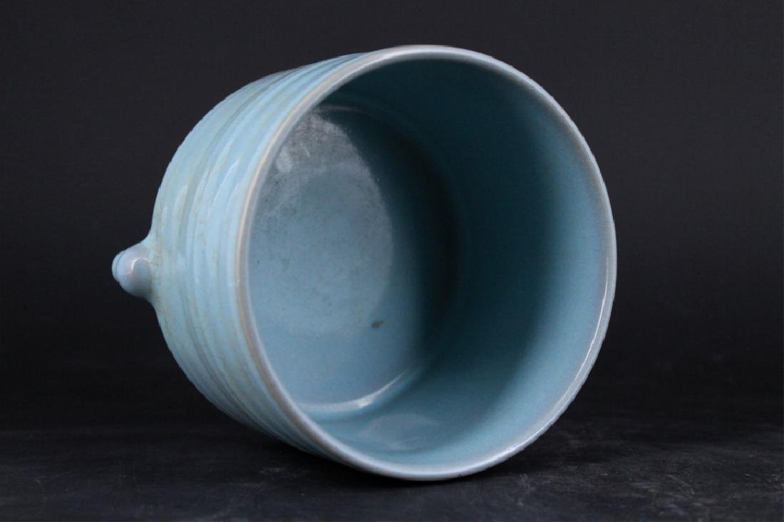Chinese Song Porcelain Ruyao Brush Pot - 3