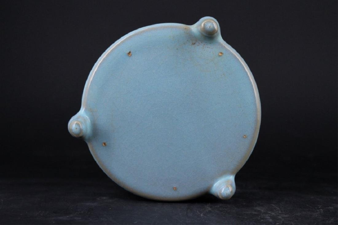 Chinese Song Porcelain Ruyao Brush Pot - 4