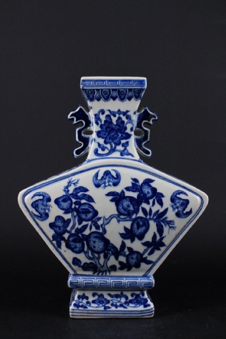 Chinese Qing Porcelain Blue&White Vase