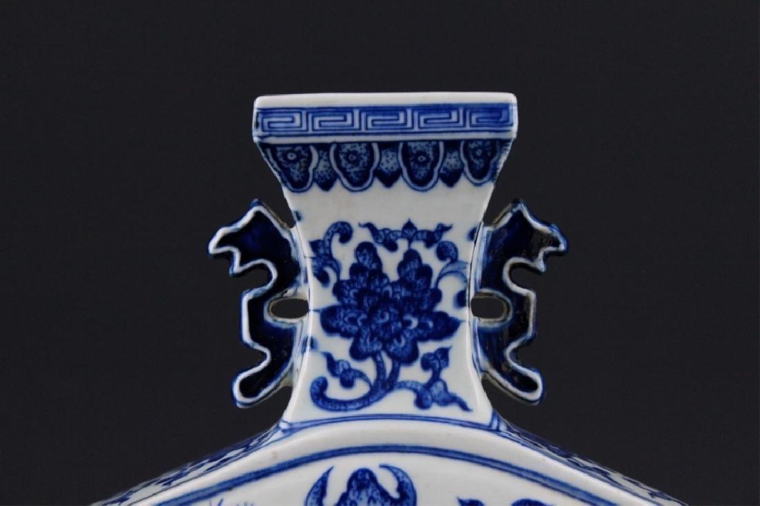 Chinese Qing Porcelain Blue&White Vase - 2