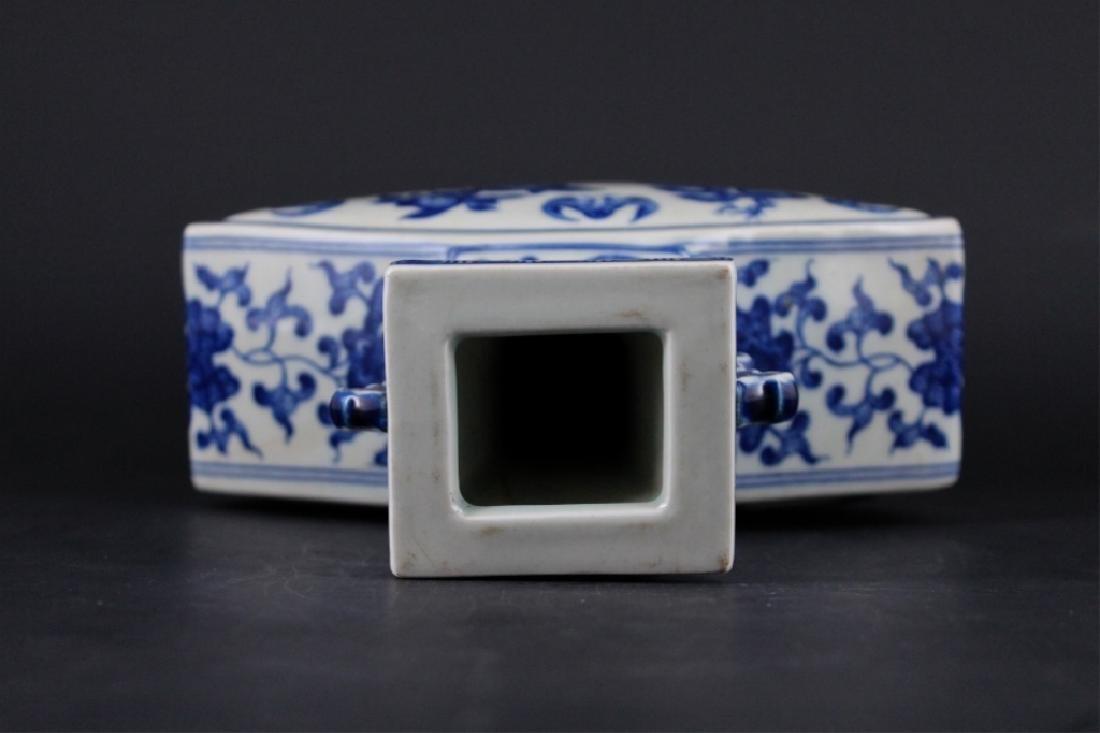 Chinese Qing Porcelain Blue&White Vase - 7