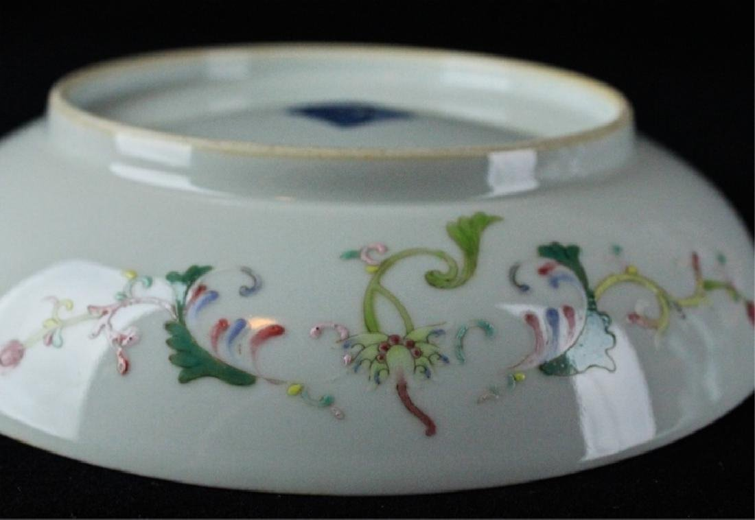 Chinese Qing Porcelain WuCai Plate - 6