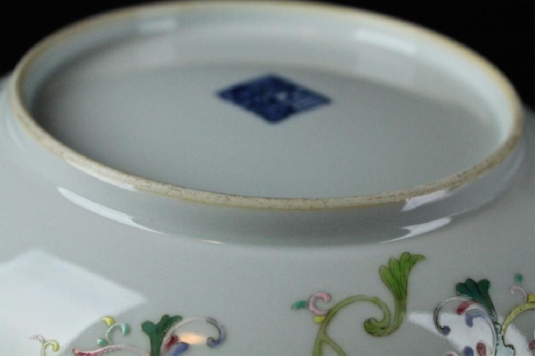 Chinese Qing Porcelain WuCai Plate - 7