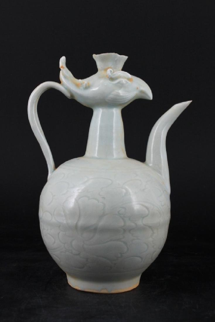 Chinese Song Porcelain Yingqing Teapot