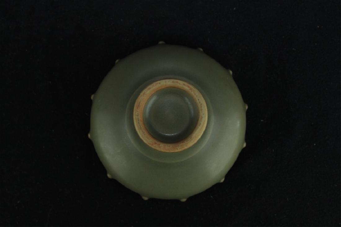 Chinese Qing Porcelain Teadust Brush Pot - 6