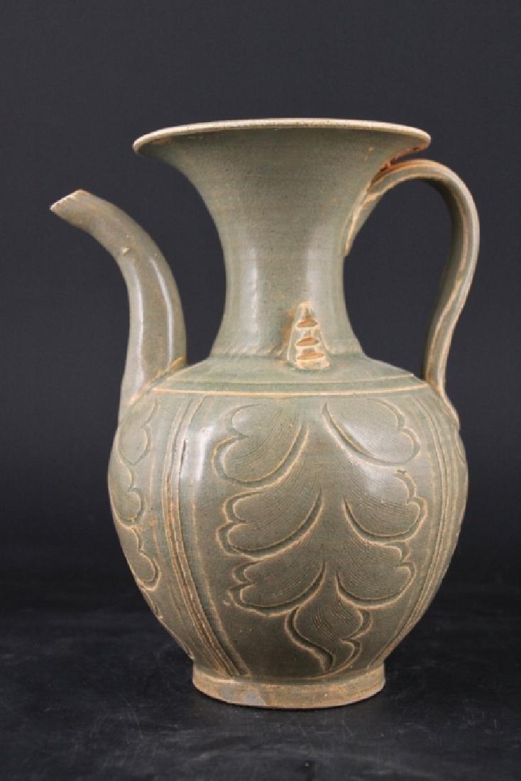 Chinese Song Porcelain Yuezhouyao Teapot