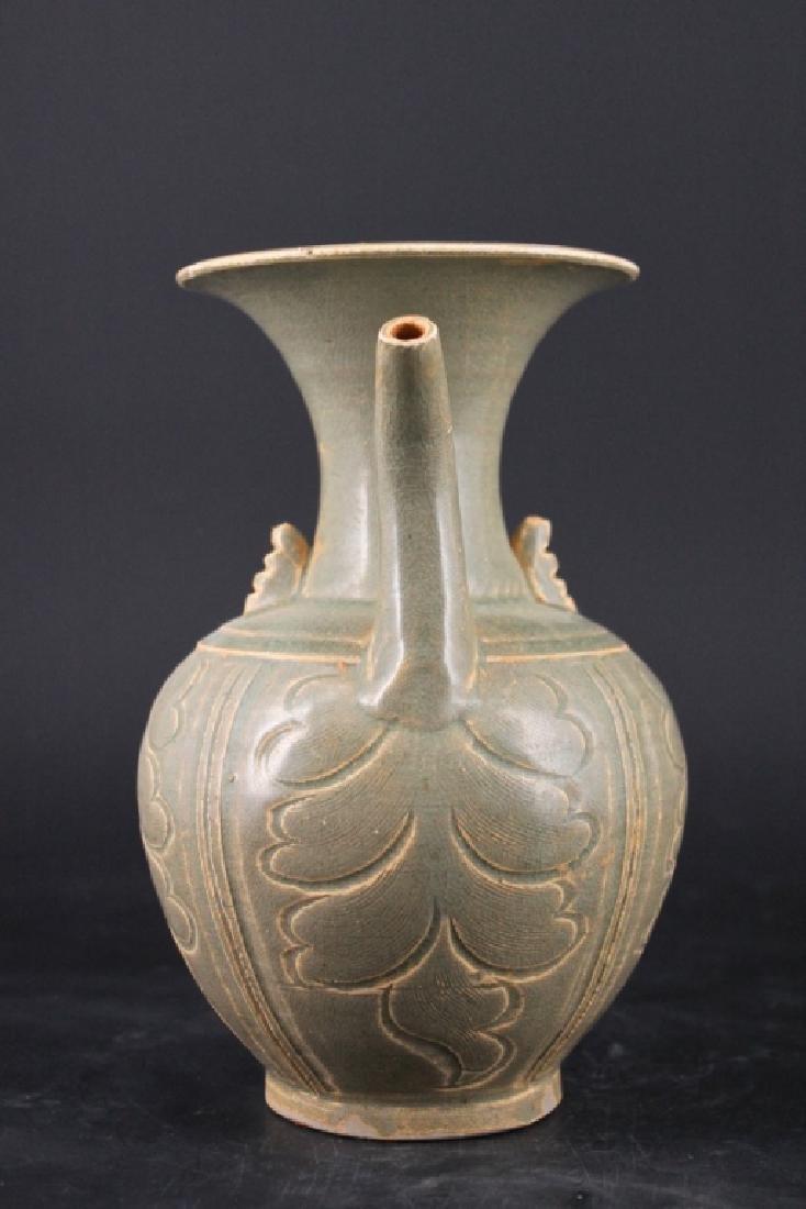 Chinese Song Porcelain Yuezhouyao Teapot - 2