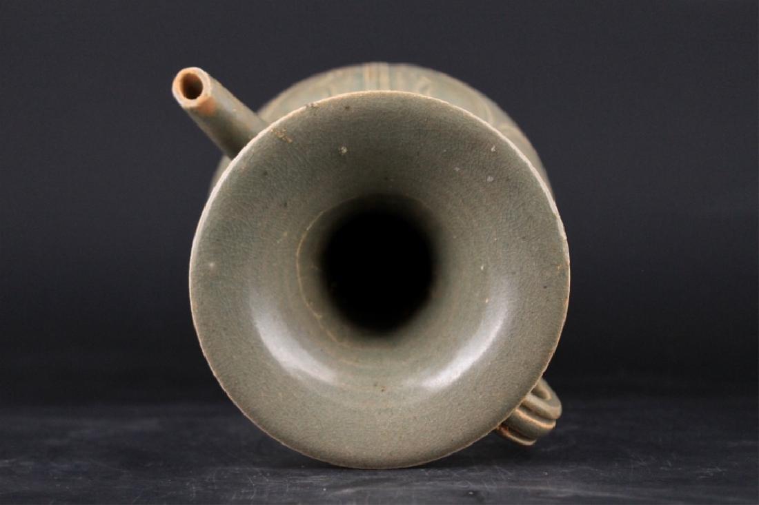 Chinese Song Porcelain Yuezhouyao Teapot - 3
