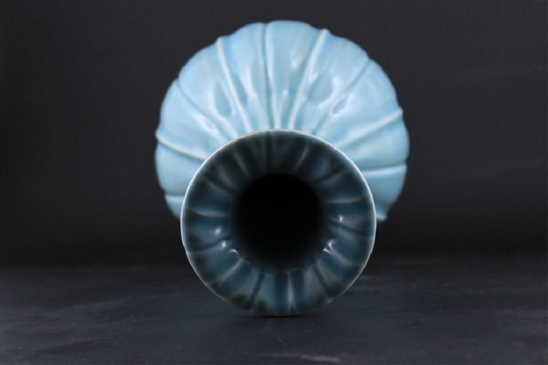Large Chinese Qing Porcelain Vase - 5