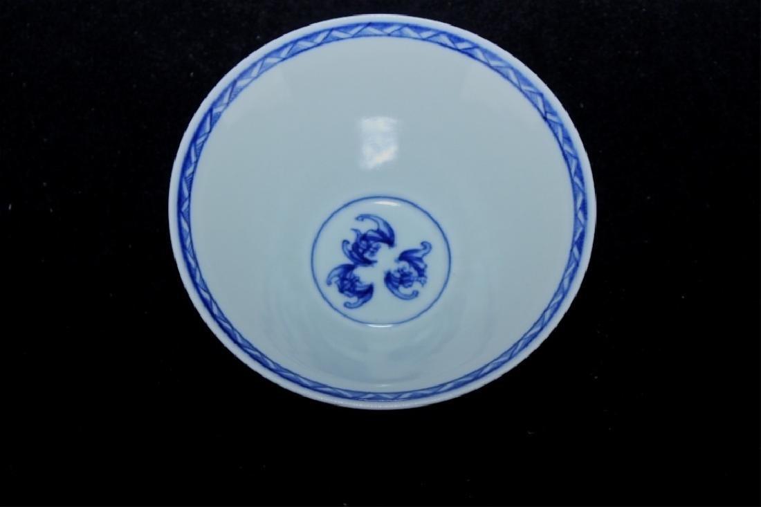 Chinese Qing Porcelain Blue&White Bowl - 3