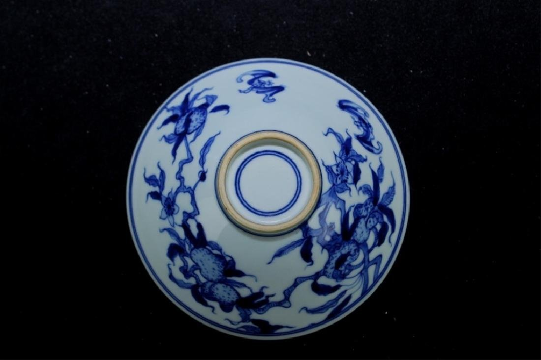 Chinese Qing Porcelain Blue&White Bowl - 4