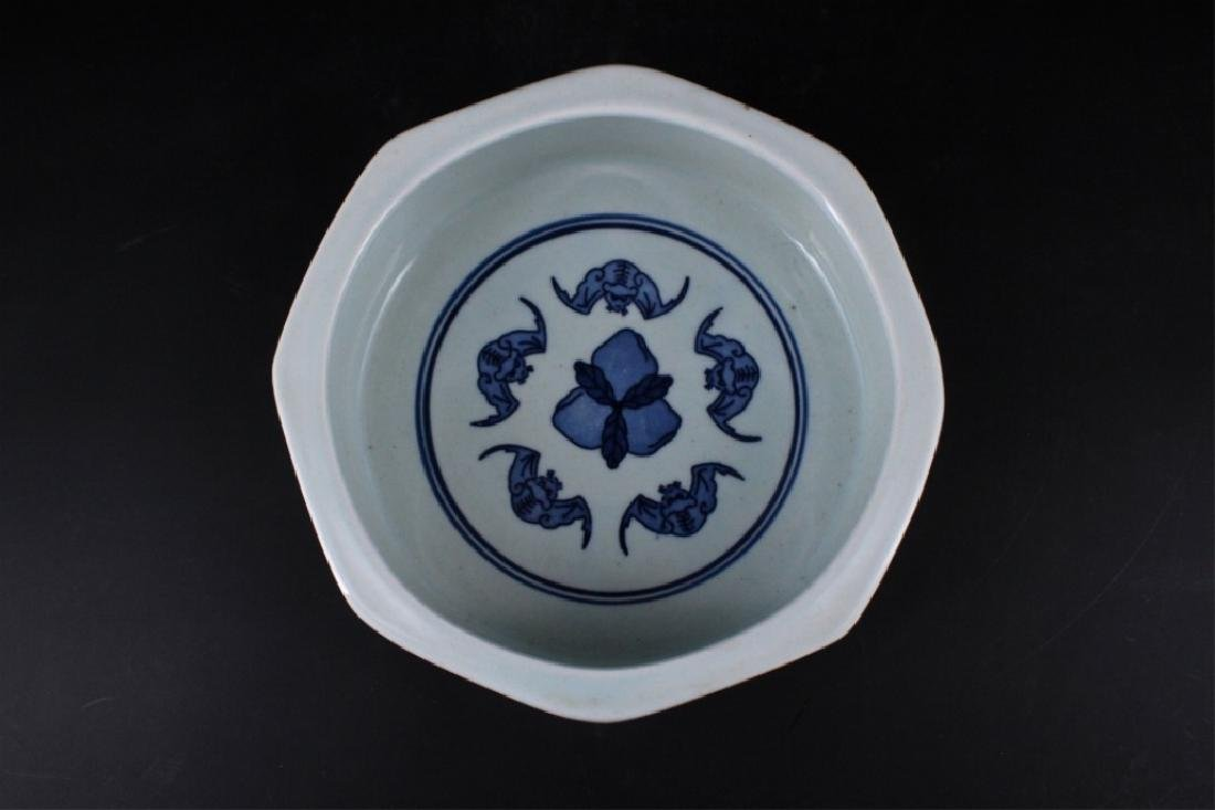 Chinese Qing Porcelain Blue&White Bowl - 3