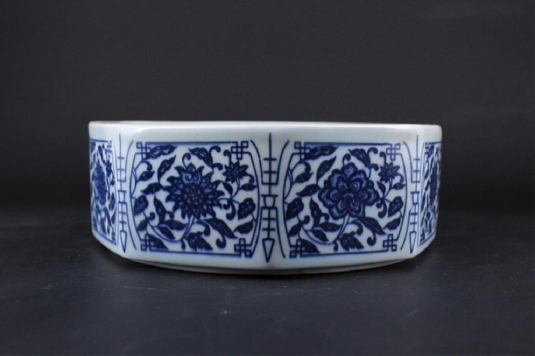 Chinese Qing Porcelain Blue&White Bowl - 5