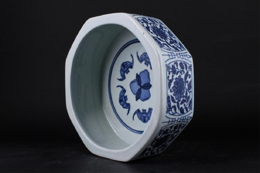 Chinese Qing Porcelain Blue&White Bowl - 6