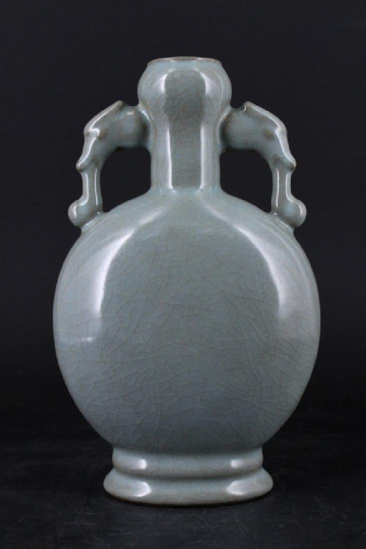 Chinese Song Porcelain Guanyao Vase - 2