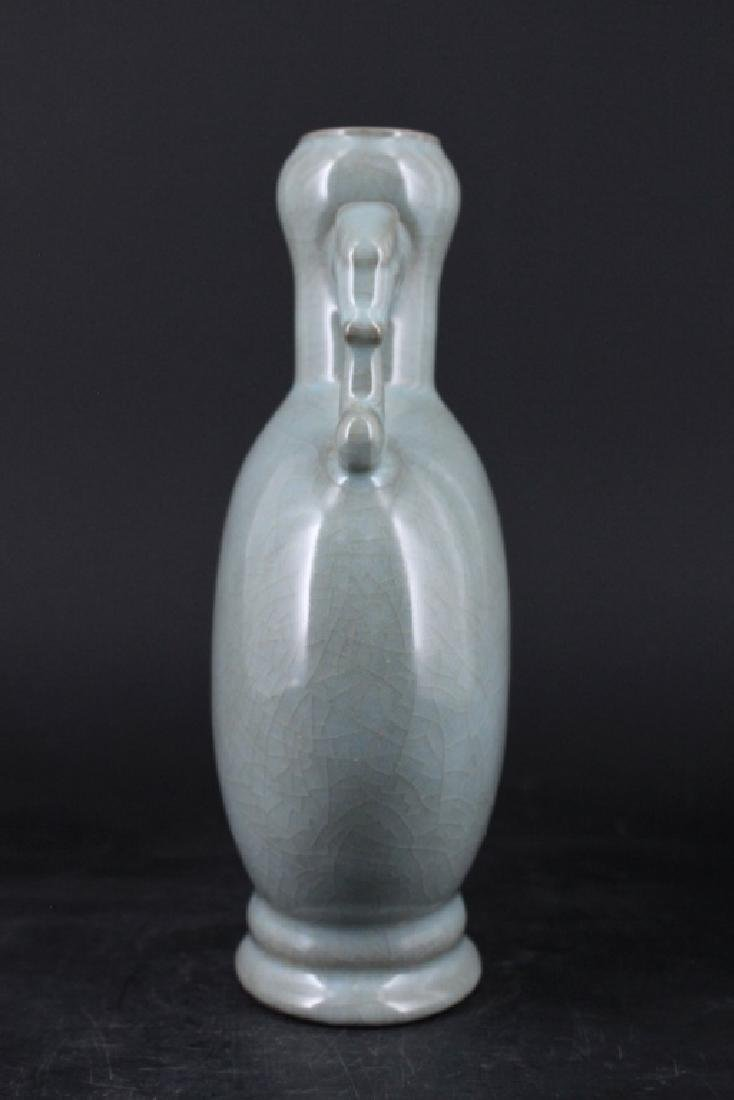 Chinese Song Porcelain Guanyao Vase - 3