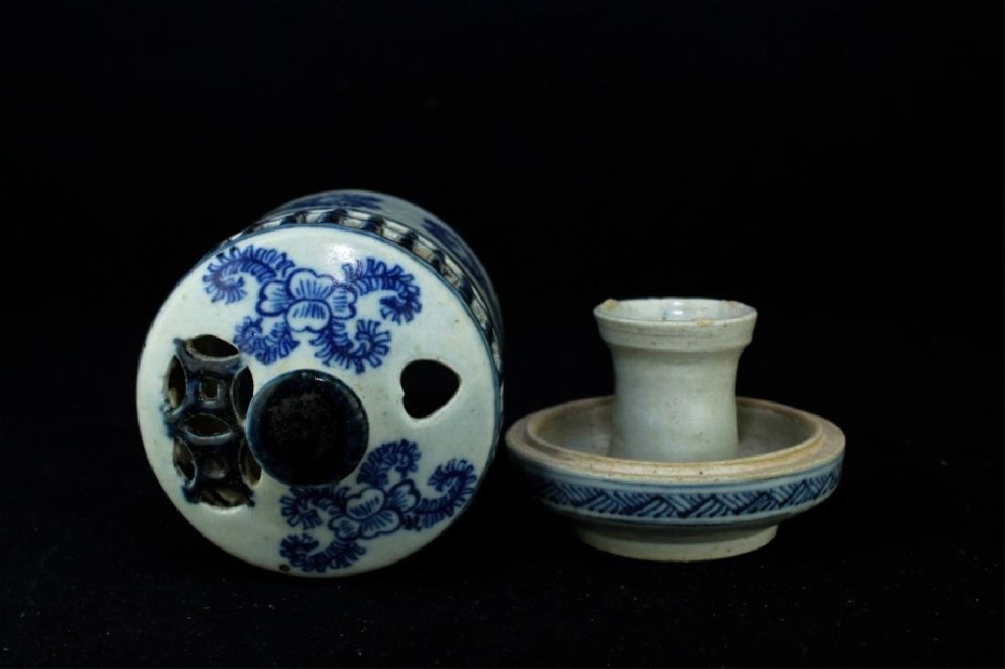Chinese Ming Porcelain Box - 3