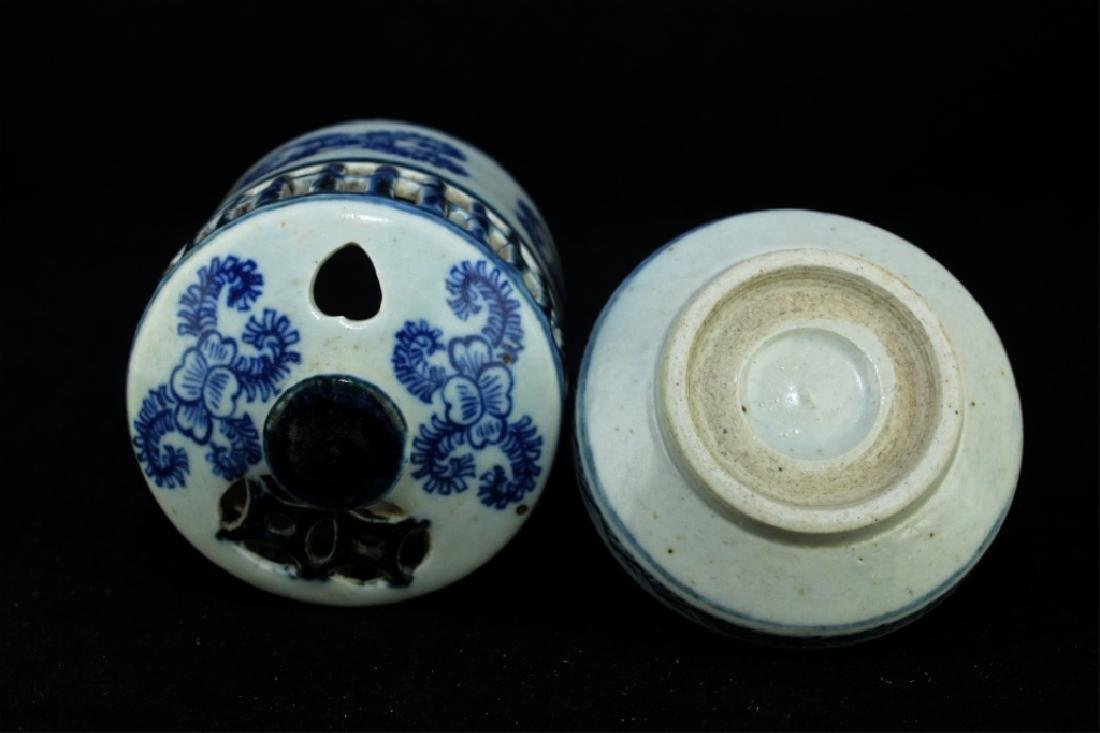 Chinese Ming Porcelain Box - 5