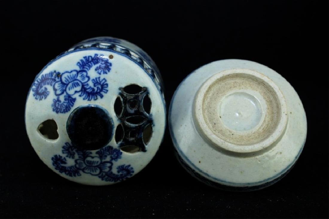 Chinese Ming Porcelain Box - 6