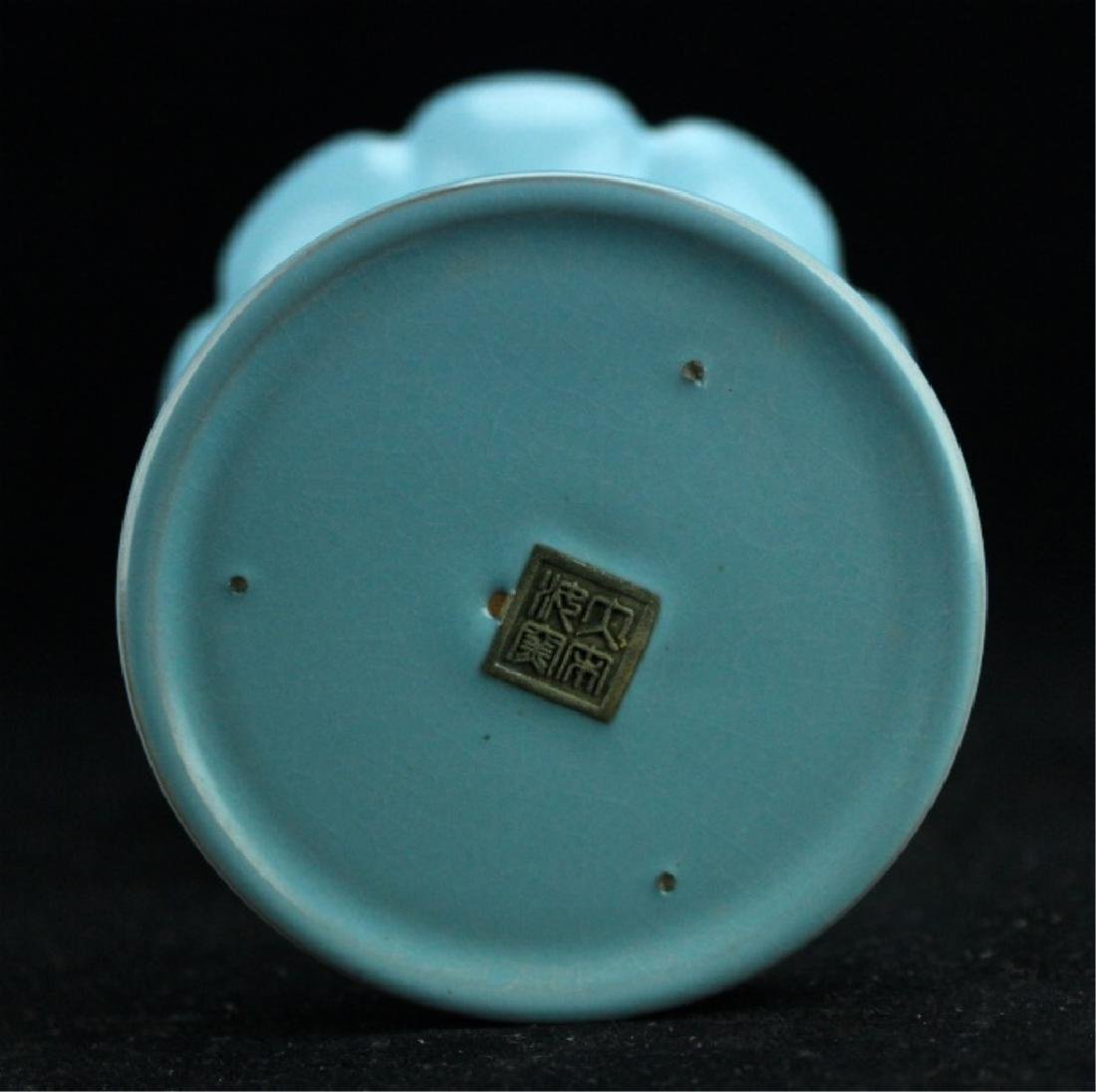 Chinese Song Porcelain RuYao Candle Holder - 6
