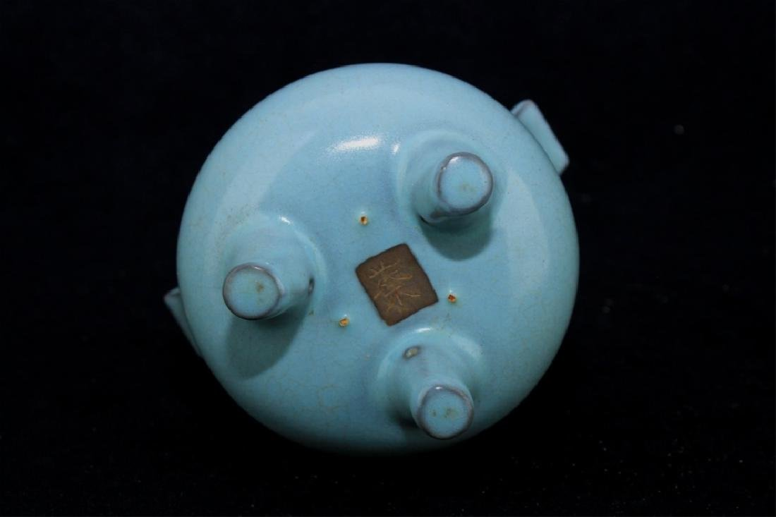 Chinese Song Porcelain RuYao Incense Burner - 5