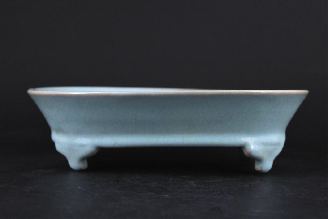Song Porcelain Ru Yao Brush Pot