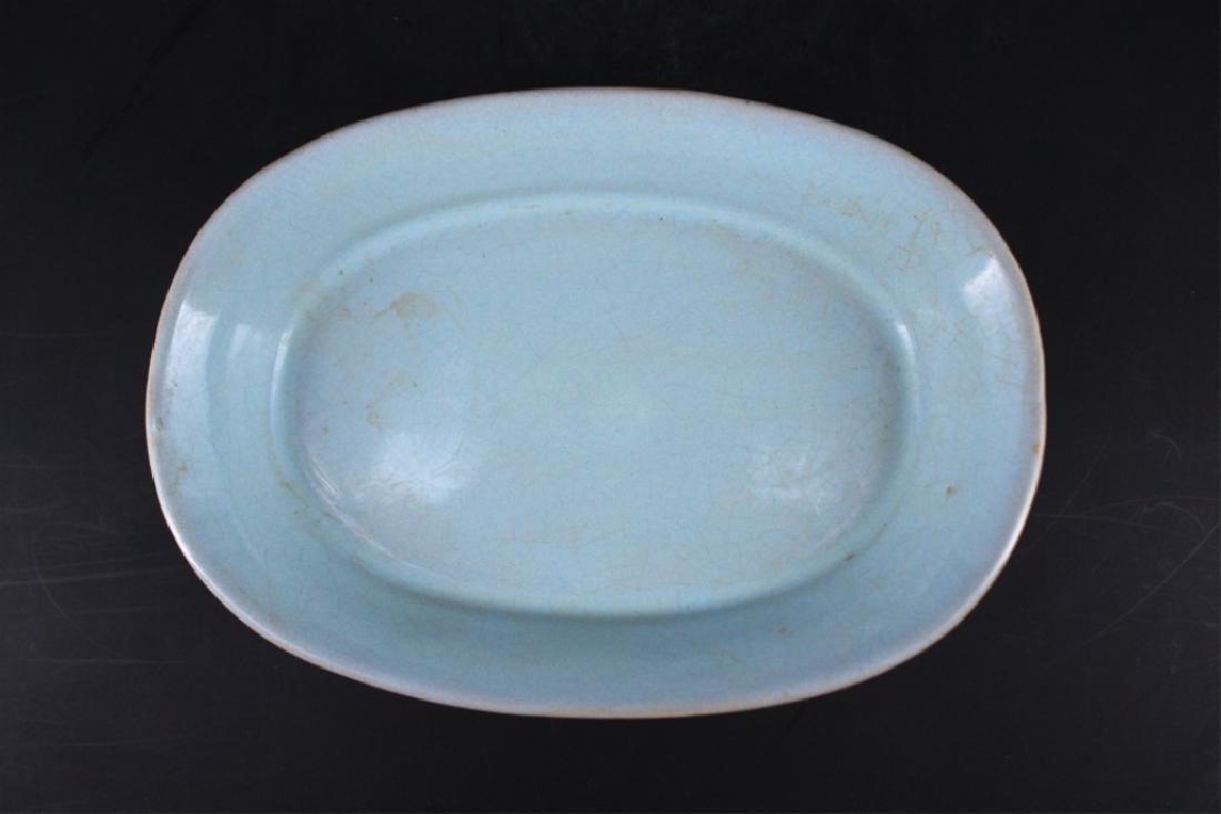 Song Porcelain Ru Yao Brush Pot - 2