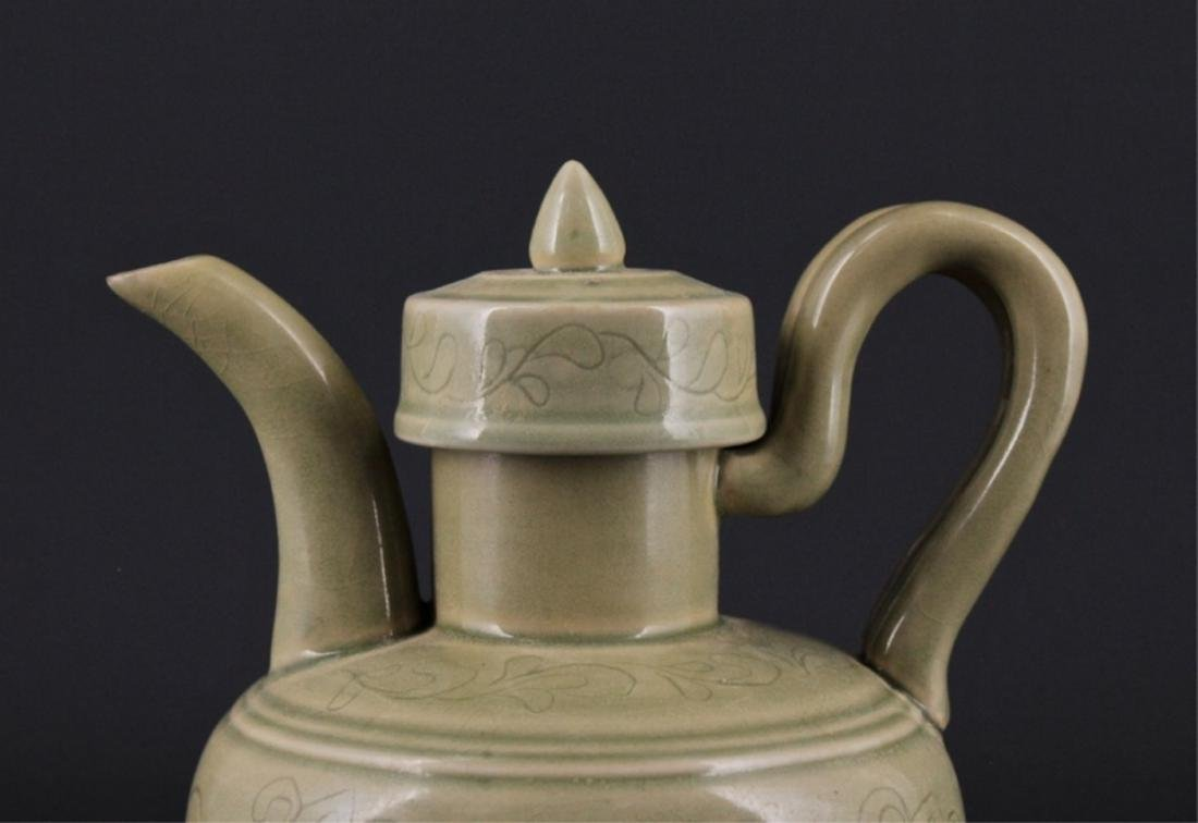 Chinese Song Porcelain YueYao TeaPot with Lid - 2
