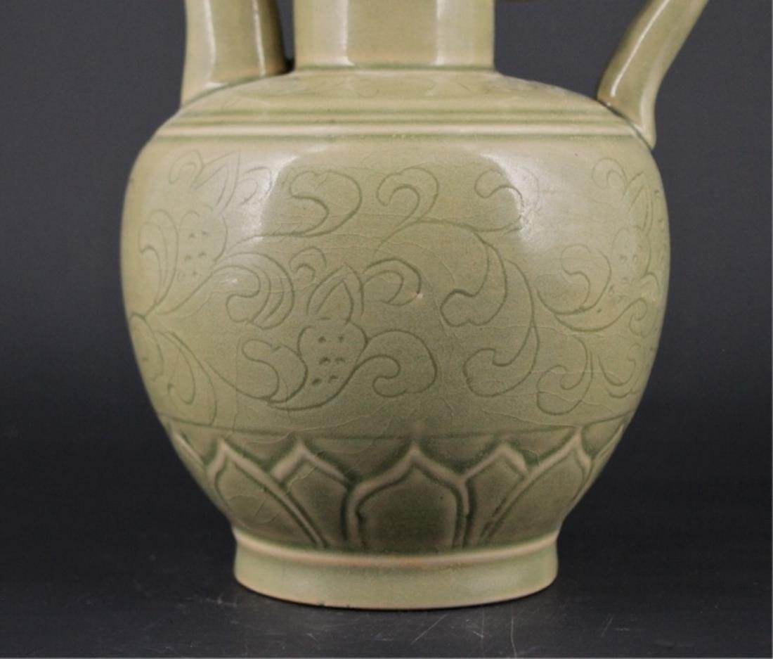 Chinese Song Porcelain YueYao TeaPot with Lid - 3