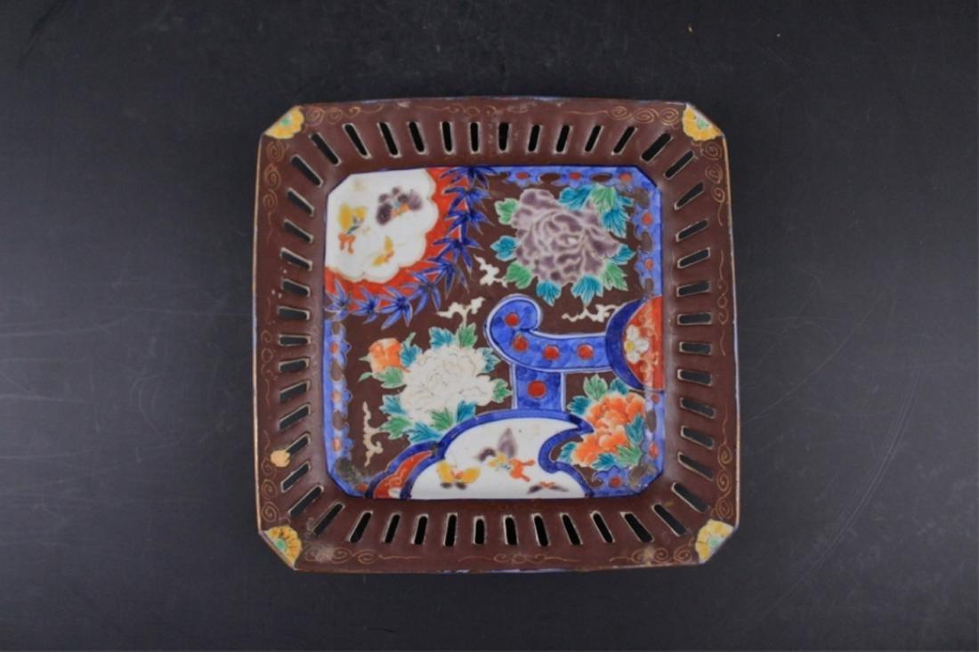 Old Japanese Porcelain Plate