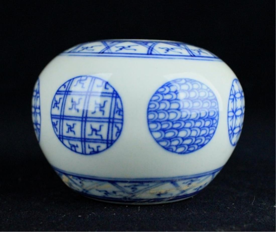 Chinese Qing Porcelain Blue&White Jar - 2
