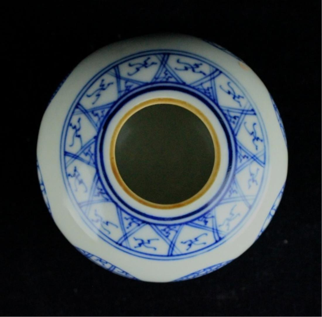 Chinese Qing Porcelain Blue&White Jar - 3