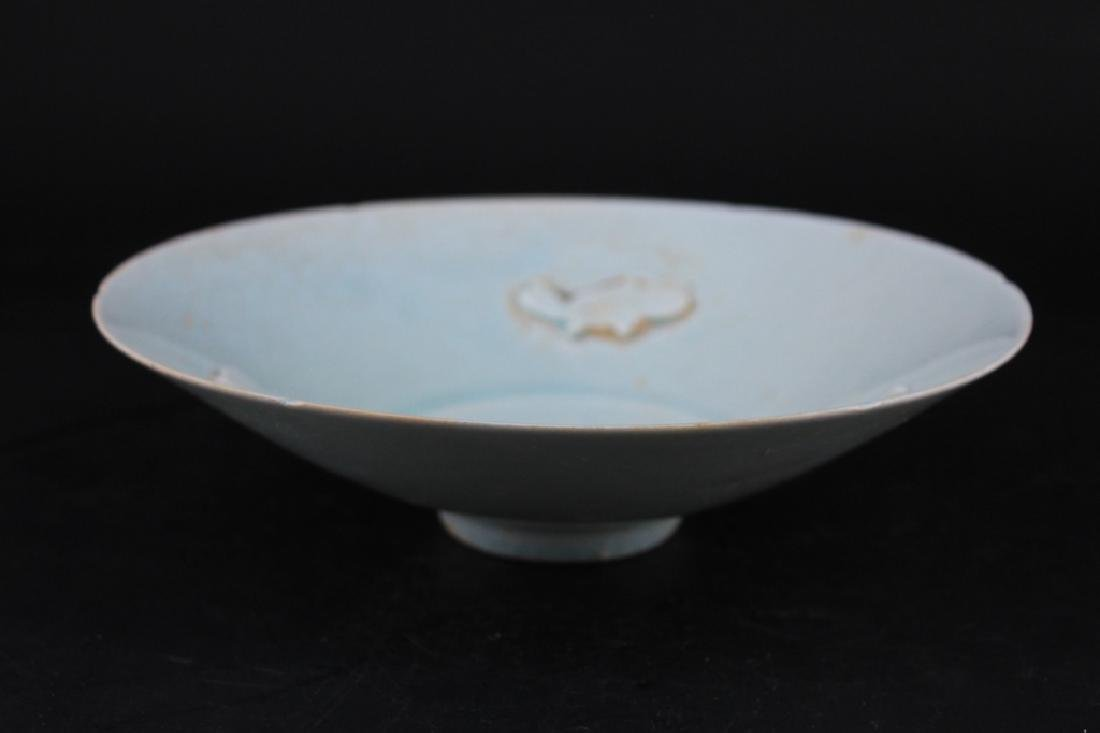Chinese Song Porcelain Crackle Plate - 5