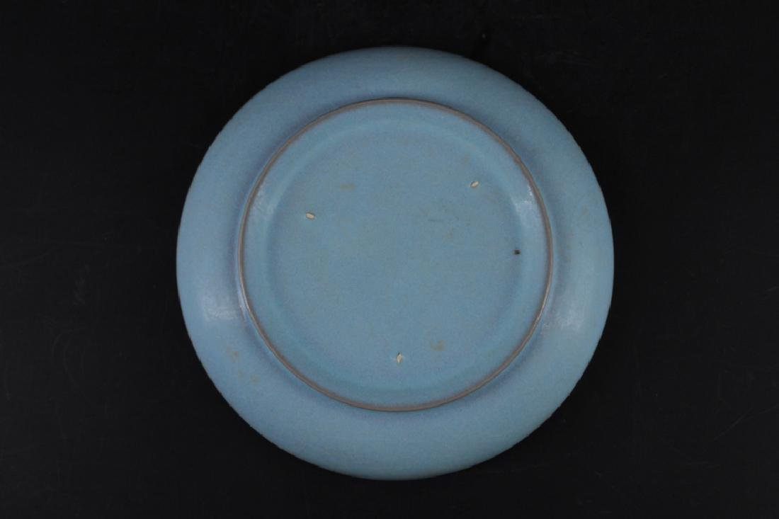 Chinese Song Porcelain Ruyao Plate - 3