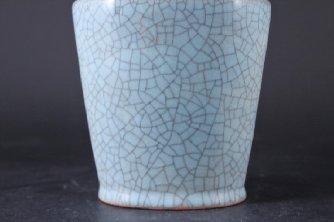 Chinese Song Porcelain Ruyao Vase - 3