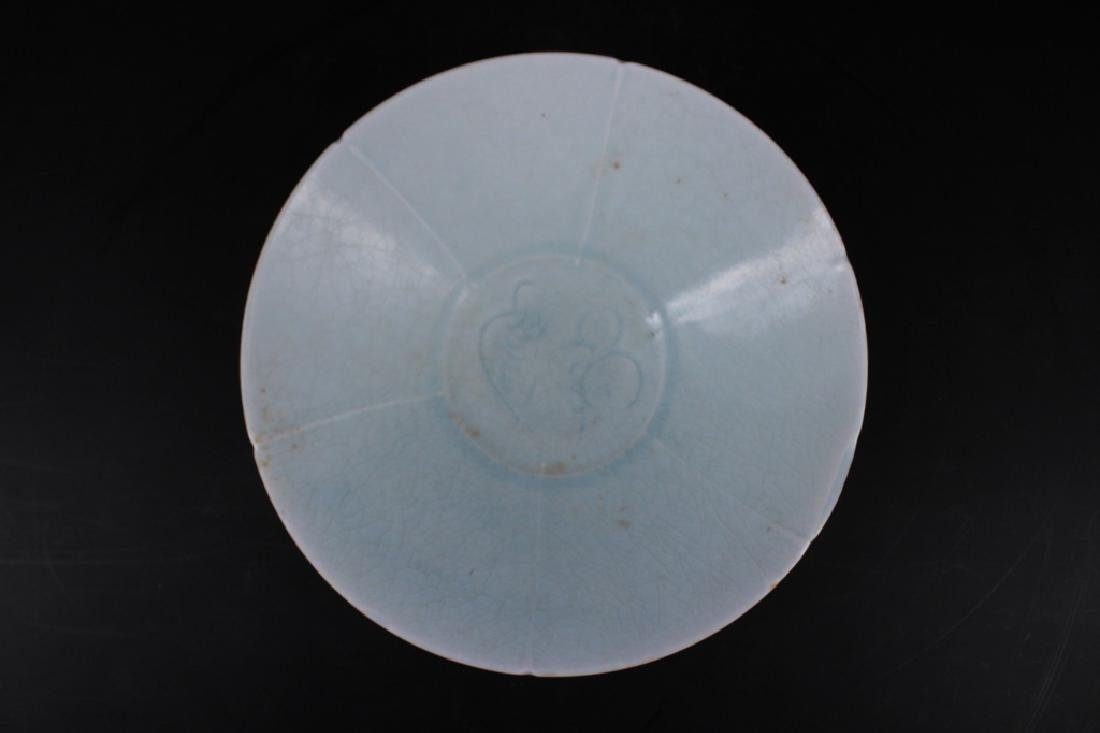 Chinese Song Porcelain Crackle Plate - 2