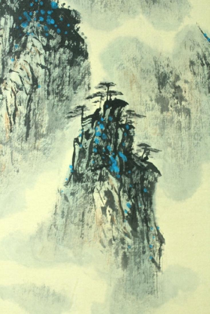 Chinese Scroll Painting Signed by Wei Zi Xi - 3