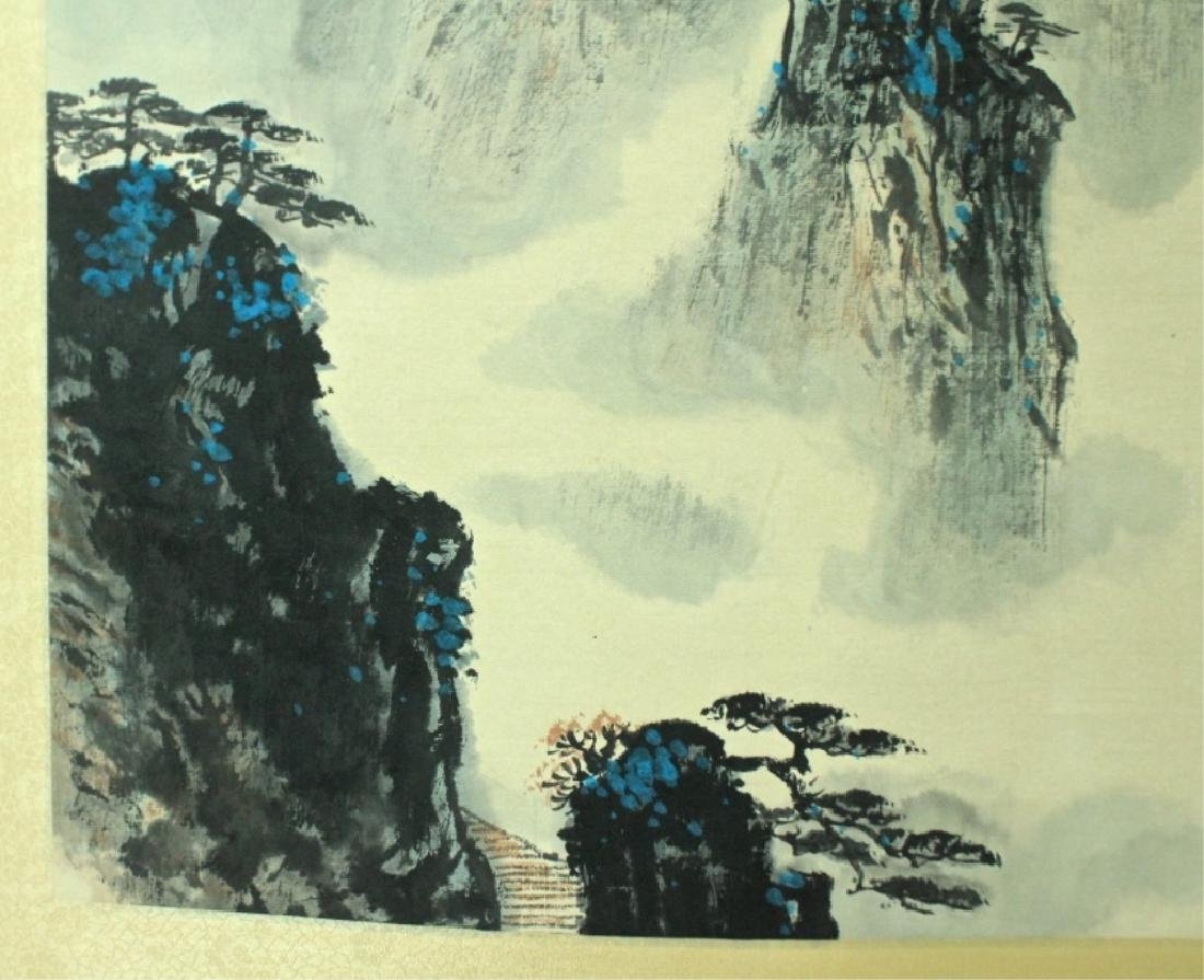 Chinese Scroll Painting Signed by Wei Zi Xi - 5