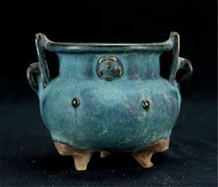 Chinese Song Porcelain JunYao Ding Vase