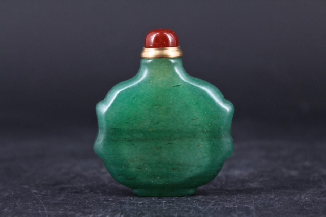 Old Jade Snuff Bottle - 3